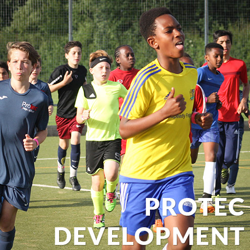 Development and training with Protec