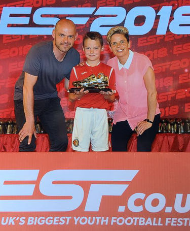 Logan Wins Overall Golden Boot in E.S.F tournament